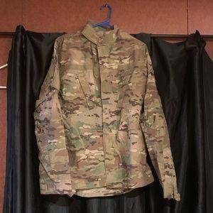 Army coat combat uniform